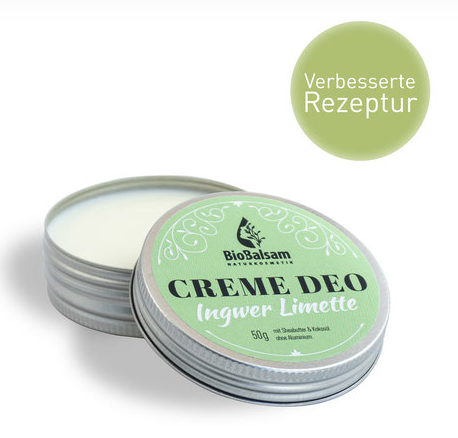 BioBalsam Creme Deo Ingwer Limette